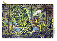 Tiki Genie's Sacred Pools Carry-all Pouch
