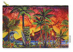 Tiki Surf A Lot Carry-all Pouch