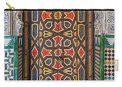 Tiled Door Of Sevilla Carry-all Pouch