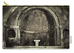 Tomb And Altar In The Monastery Of San Pedro De Rocas Carry-all Pouch