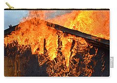 Carry-all Pouch featuring the photograph Too Hot by Carl Young