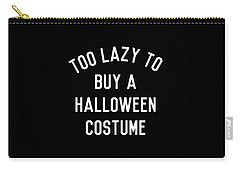 Too Lazy To Buy A Halloween Costume Carry-all Pouch