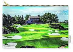 Carry-all Pouch featuring the photograph Top Of The Rock Golf Course - Branson Missouri by Mike Braun