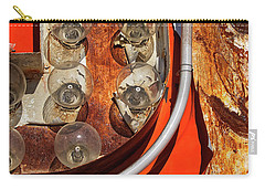 Carry-all Pouch featuring the photograph Totally Tubular by Skip Hunt