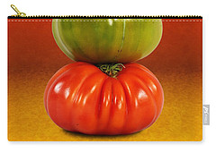 Tower Of Colorful Tomatoes Carry-all Pouch