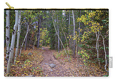 Carry-all Pouch featuring the photograph Trailhead by James BO Insogna
