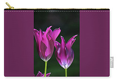 Translucent Tulips Carry-all Pouch