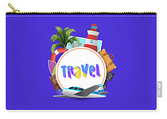 Travel World Carry-all Pouch