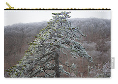Tree With Hoarfrost Carry-all Pouch