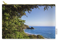 Trees And Ocean Carry-all Pouch