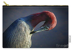 Tricolor Preening Carry-all Pouch