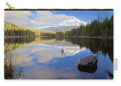 Trillium Lake Morning Reflections Carry-all Pouch