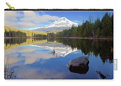 Trillium Lake November Morning Carry-all Pouch