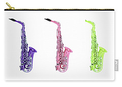 Trio Of Saxes Carry-all Pouch