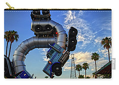 Carry-all Pouch featuring the photograph Truckin' by Skip Hunt