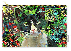 Tucker The Tuxedo Cat Carry-all Pouch