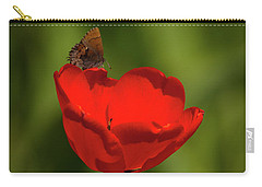 Tulip And Skipper Carry-all Pouch