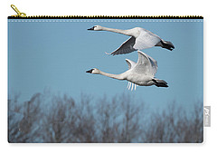 Tundra Swan Duo Carry-all Pouch