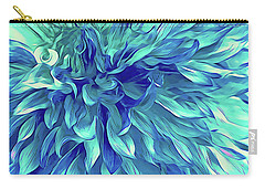 Turquoise Love  Carry-all Pouch