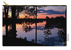 Twilight By The Lake Carry-all Pouch