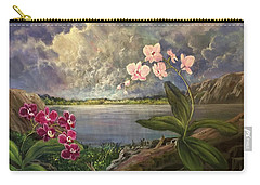 Twilight Orchids Carry-all Pouch