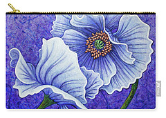 Carry-all Pouch featuring the painting Twilight Surrender by Amy E Fraser