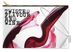 Twisted Flavour Red Wine Carry-all Pouch