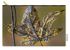 Carry-all Pouch featuring the photograph Two Buddies by Michael Arend