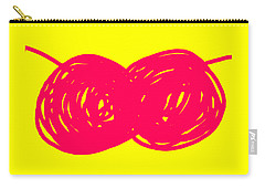 Two Red Cherries Carry-all Pouch