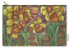 Two Toned Daffodils Carry-all Pouch