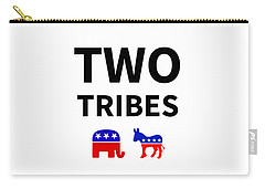 Two Tribes Carry-all Pouch