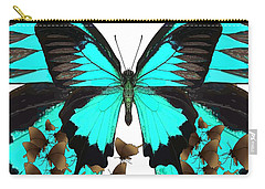 U Is For Ulysses Butterfly Carry-all Pouch