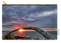 Under The Arch, Sunset Carry-all Pouch
