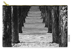 Under The Pier #2 Bw Carry-all Pouch