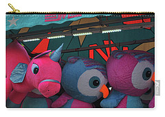 Carry-all Pouch featuring the photograph Unicorns And Owls by Jamart Photography