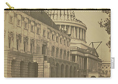 United States Capitol Under Construction Carry-all Pouch