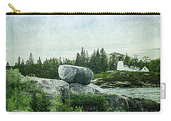 Carry-all Pouch featuring the photograph Upon This Rock by Mike Braun