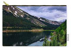 Carry-all Pouch featuring the photograph Urad Lake by Dan Miller