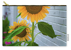 Urban Sunflower Carry-all Pouch