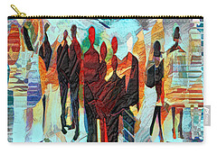 Carry-all Pouch featuring the digital art Us by Pennie McCracken