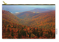 Carry-all Pouch featuring the photograph Valley Below Mount Greylock by Raymond Salani III