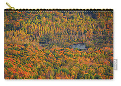 Carry-all Pouch featuring the photograph Valley From The Summit Of Mount Greylock by Raymond Salani III