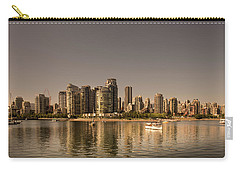 Vancouver Golden Light Hour Carry-all Pouch