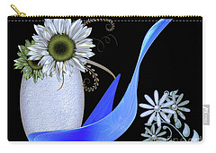 Vase And Swan Carry-all Pouch