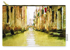 Venetian Canal Carry-all Pouch