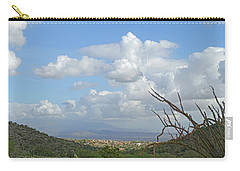 Carry-all Pouch featuring the photograph Verdant Valley 3 by Lynda Lehmann
