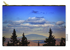 Carry-all Pouch featuring the photograph Vermont From Mount Greylock Summit by Raymond Salani III