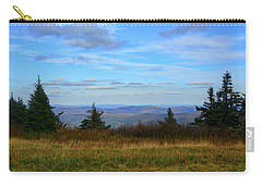 Carry-all Pouch featuring the photograph Vermont From The Summit Of Mount Greylock by Raymond Salani III