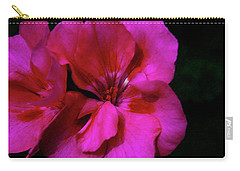 Carry-all Pouch featuring the photograph Vibrant Art by Milena Ilieva
