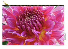 Vibrant Dahlia Carry-all Pouch